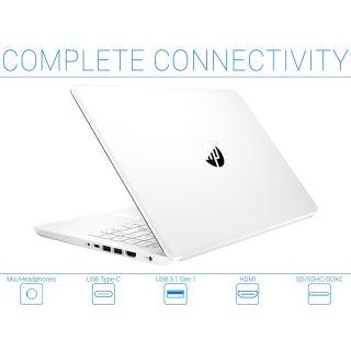 HP laptop 14  14-dq0002qx intel celeron N4020 RAM 4GB 64 GB EMMC
