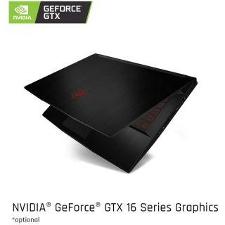 MSI GF63 Thin 9SC Laptop Gaming PC 300GB 8GB Intel i7-9750H 2.60Ghz Win 10