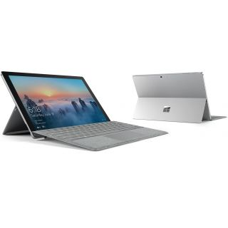 Microsoft Surface Pro 4 (Intel Core i5, 4GB RAM, 128GB) with Windows 10, Silver