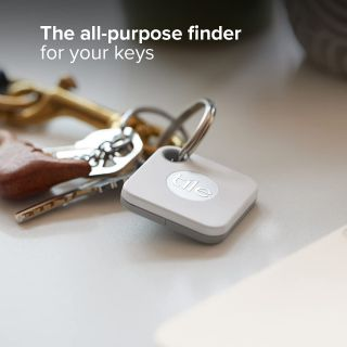 Tile Mate Bluetooth Tracker, Keys Finder and Item Locator for Keys, Bags and More; Water Resistant with 1 Year Replaceable Battery