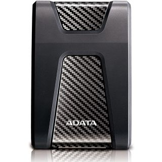 ADATA HD650 2TB USB 3.1 External Hard Drive, Black - Red - Blue