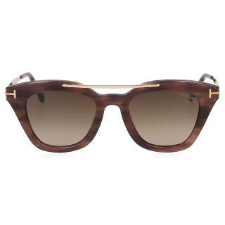 Tom Ford Coloured Havana/Roviex Women's Anna Eyewear UV Protection Sunglasses