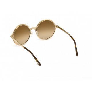 Tom Ford AVA-02 shiny rose gold/brown (28G L) Sunglasses