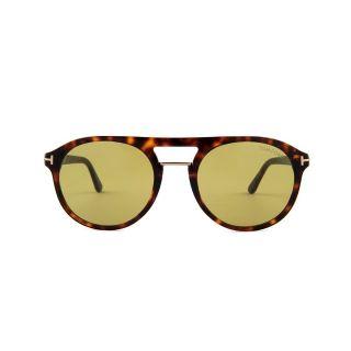 Tom Ford  unisex(Men & women) Green Lens Sunglasses